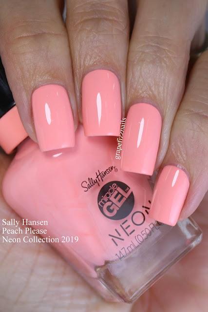 Sally Hansen Peach Please Neon Collection