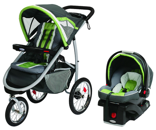 Baby Jogger  City Select Travel System Onyx Steel Grey