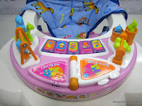 B 2 in One Royal RY8188 Circus Baby Walker and Rocker