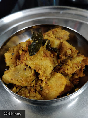 Simple, low-oil and very healthy Yam (Sooran or Jimikand) recipe-NWoBS Blog