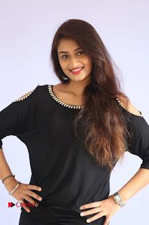 Actress Kiran Chetwani Pictures in Black Jeans at Lakshmidevi Samarpinchu Nede Chudandi Platinum Disc Function  0027