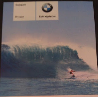 BMW surfer advertising wave