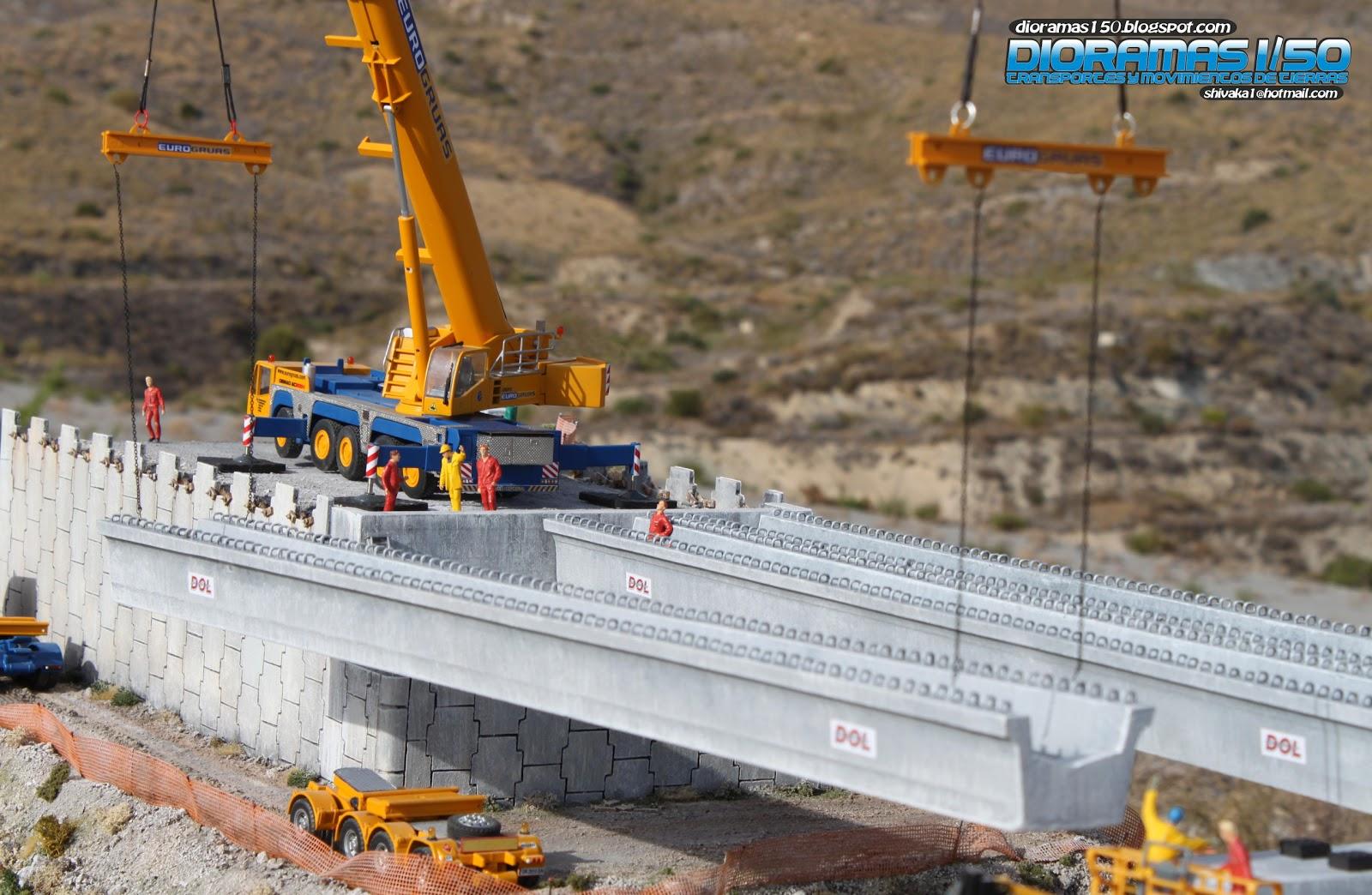 Scale Construction Diorama