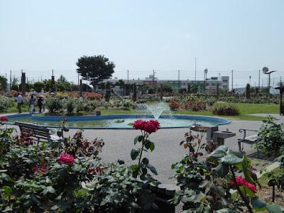 若園公園バラ園 噴水