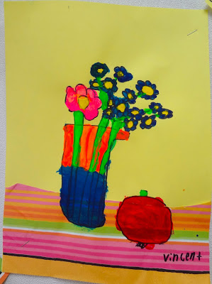 matisse still life art project for kids