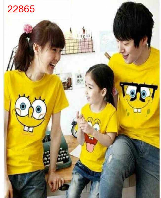 Jual Couple Keluarga FM Spongebob - 22865