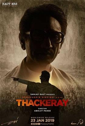 Thackeray 2019 Full Movie Hindi 350MB DVDRip 480p