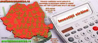 Topul județelor după capitalul străin investit