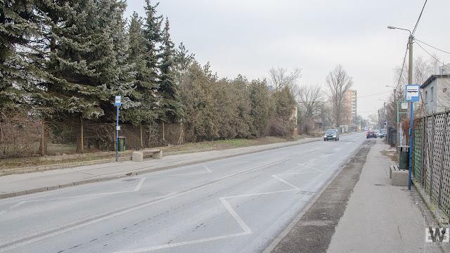 Tereny przeznaczone pod budowę drugiego etapu Trasy Uniwersyteckiej w Bydgoszczy