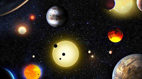 miles de planetas extrasolares