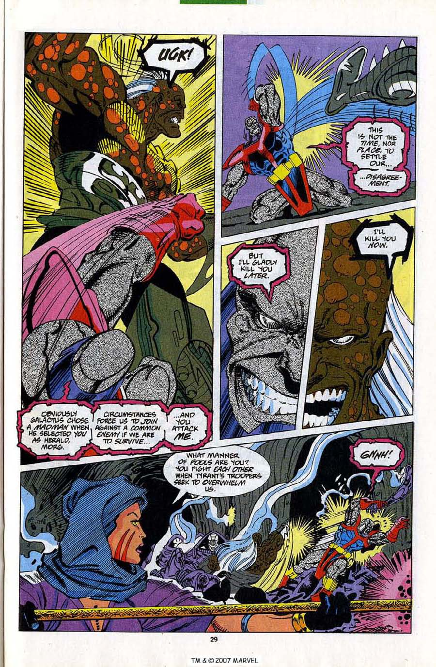 Read online Silver Surfer (1987) comic -  Issue #82 - 31