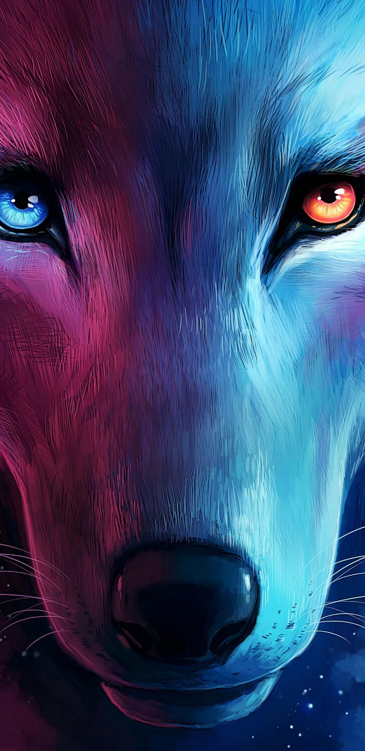 wolf fantasy art uhdpaper.com 4K 70