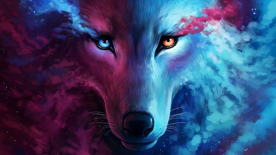 Wolf, Fantasy, Art, 4K, #70