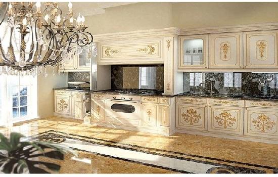 Desain Interior Dapur Klasik