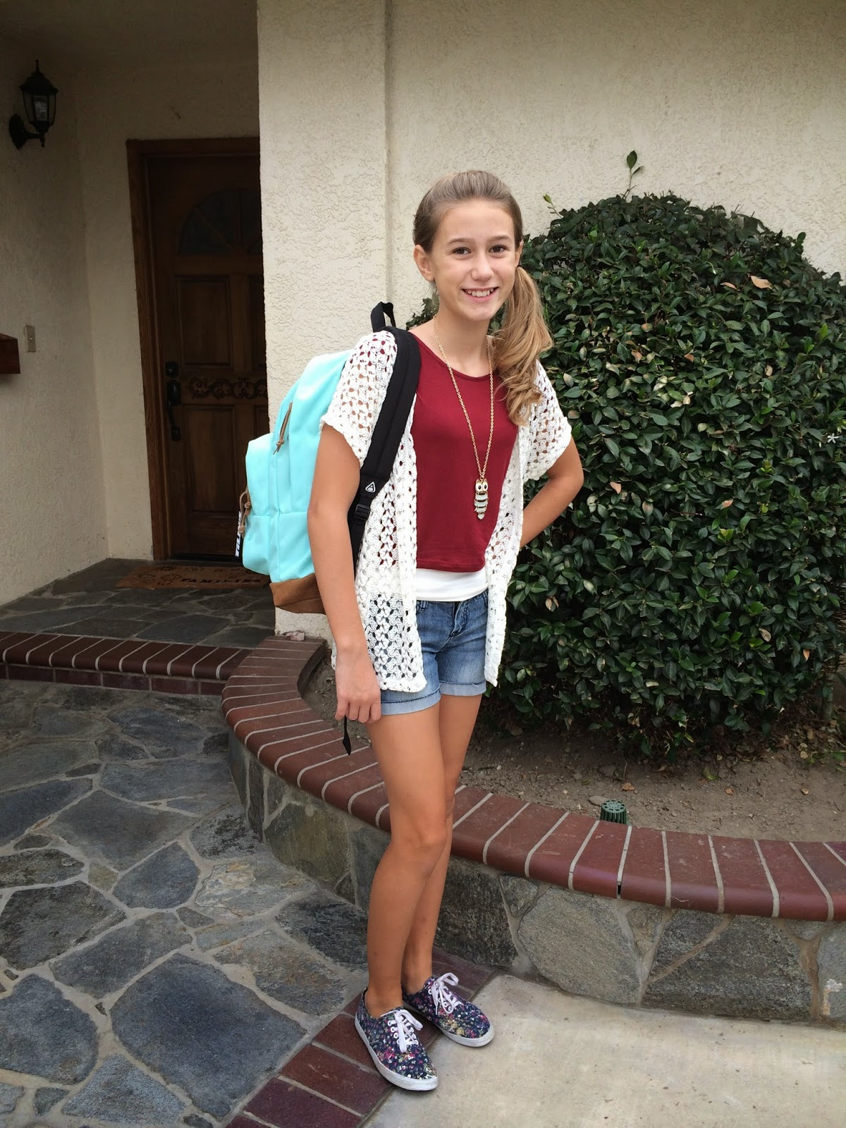 The Peterson Pickle Jar First Day Of 7th Grade