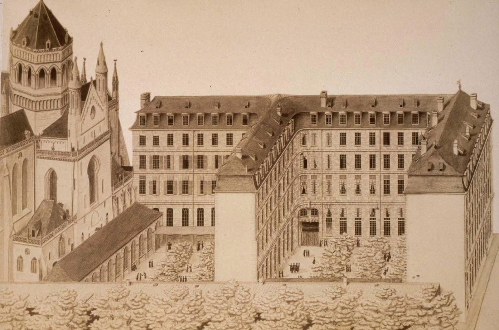 illustration réalisée par A. HUBER en 1882
