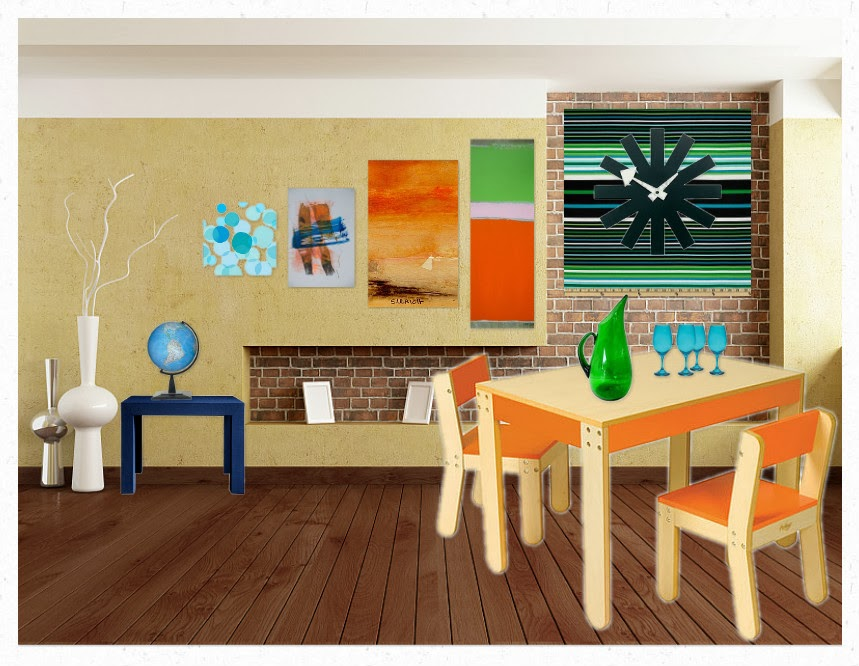 I Chose Blue And Green Because These Are Calming Colors Like This Room Its Comfortable Gives A Relaxing Feeling Triadic