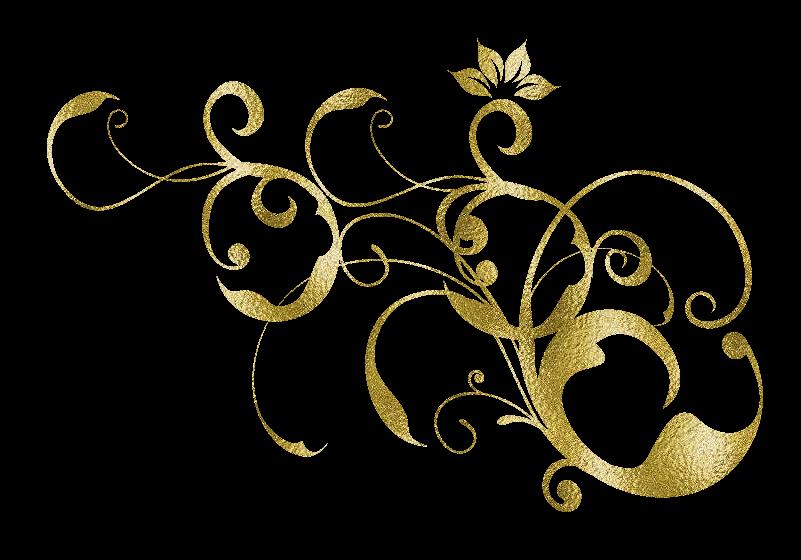 Ornamentos Decorativos Dorados,png,clipart,florales