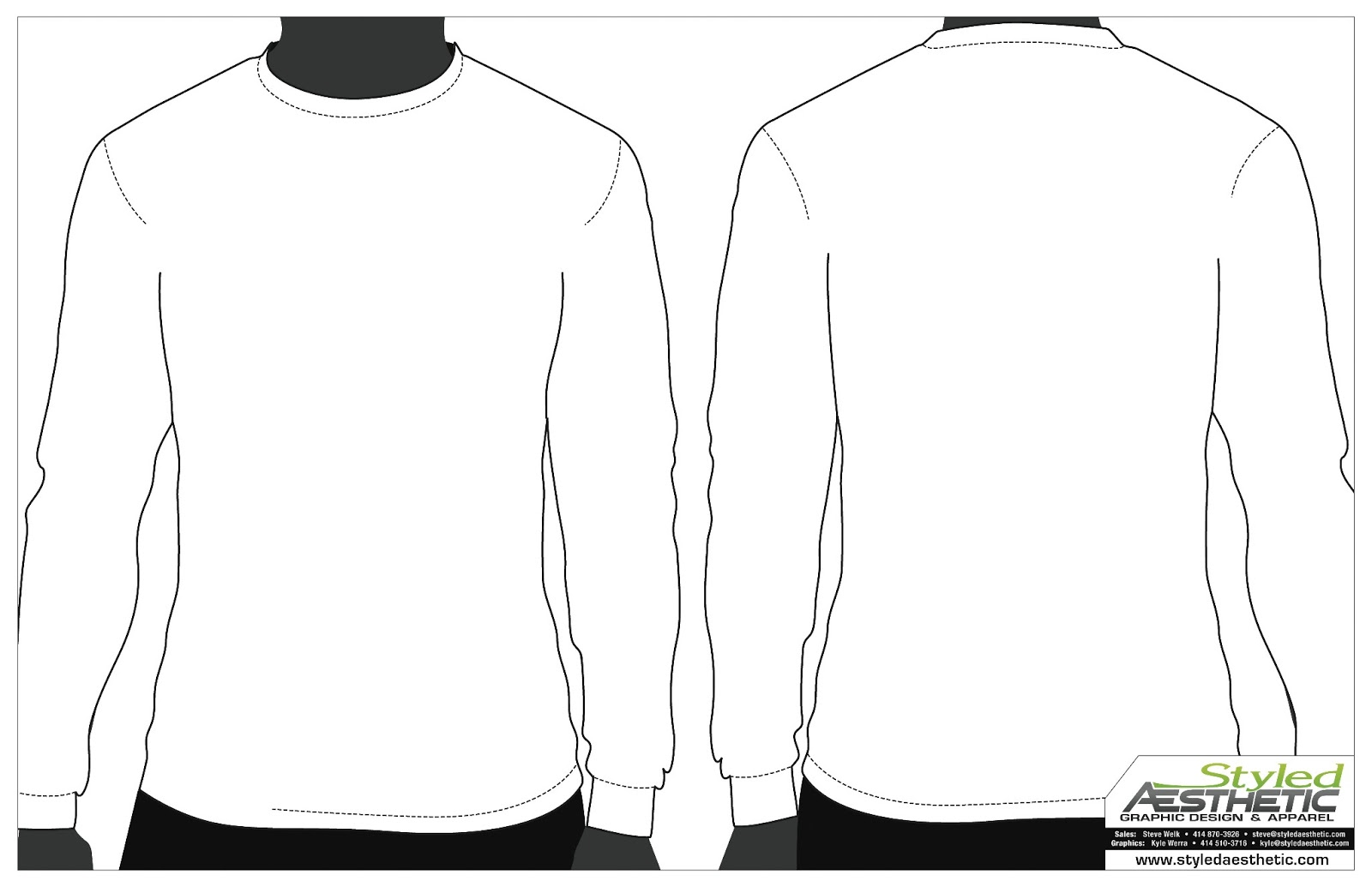 sweatshirt design template