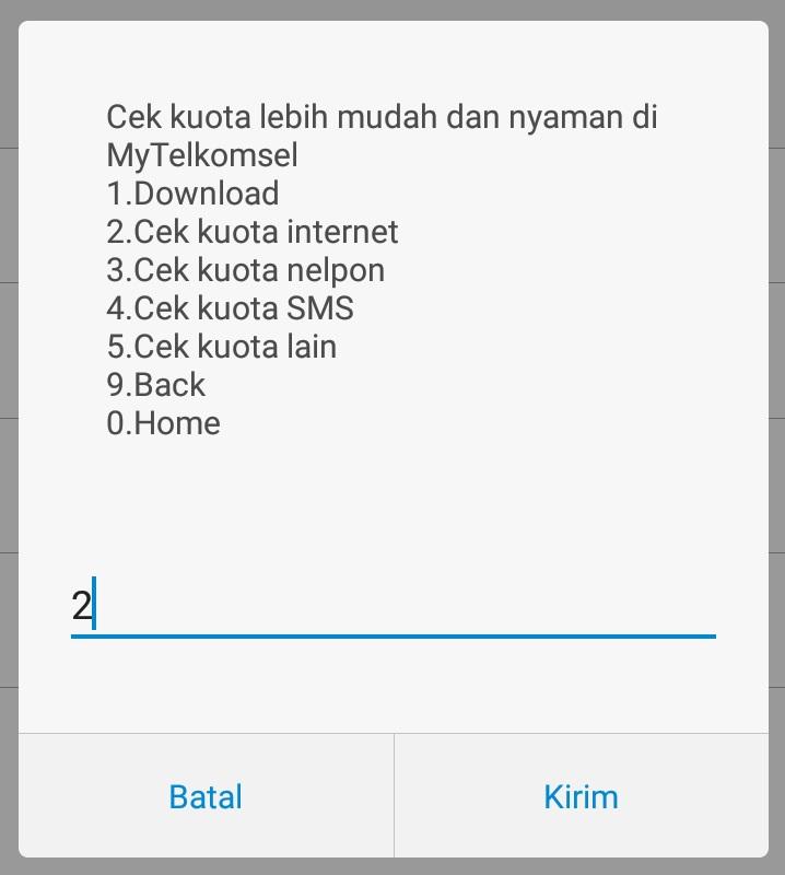 3 Cara Terbaru Cek Sisa Kuota Telkomsel (Simapti,As,Loop