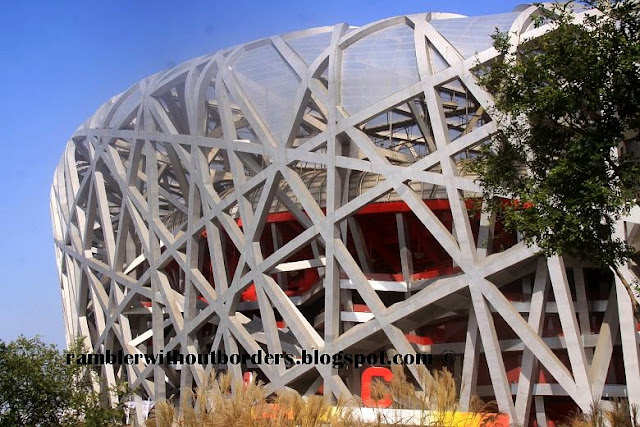 Bird's Nest, Beijing Olympic Park, Beijing, China