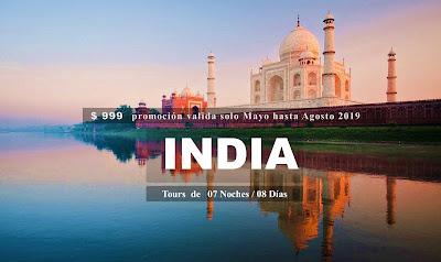 IMAGEN TOUR POR LA INDIA