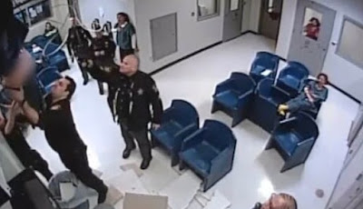Unlucky prisoner crashes through ceiling and lands in waiting room during botched jail break