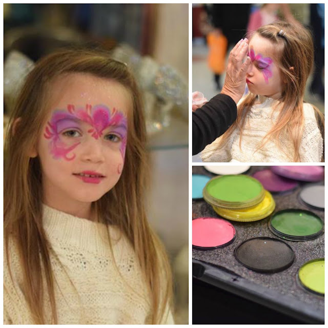 free face painting at lowry outlet