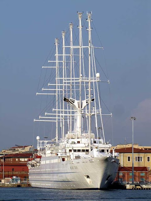 Wind Surf cruise ship, IMO 8700785, port of Livorno