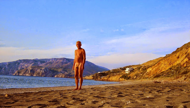 Naturism on Skyros in Greece