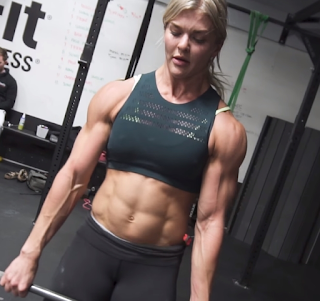 Most 5 The beautiful woman with muscles : 1 - Brooke Holladay (USA)