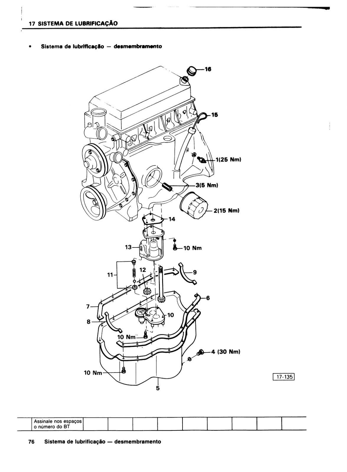 OFICINA VW : MANUAL DE REPARAÇÕES GOL E SAVEIRO MOTOR AE 1600