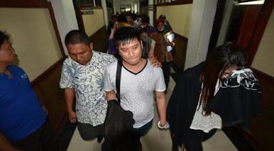 38 turis asal cina ini di deportasi karna terbukti melakukan pelanggaran