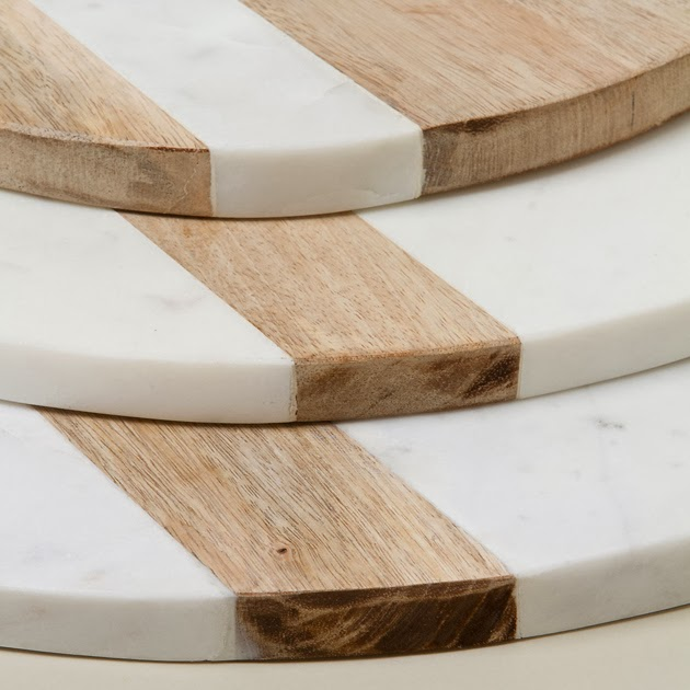 the infinite pattern: marble and wood.