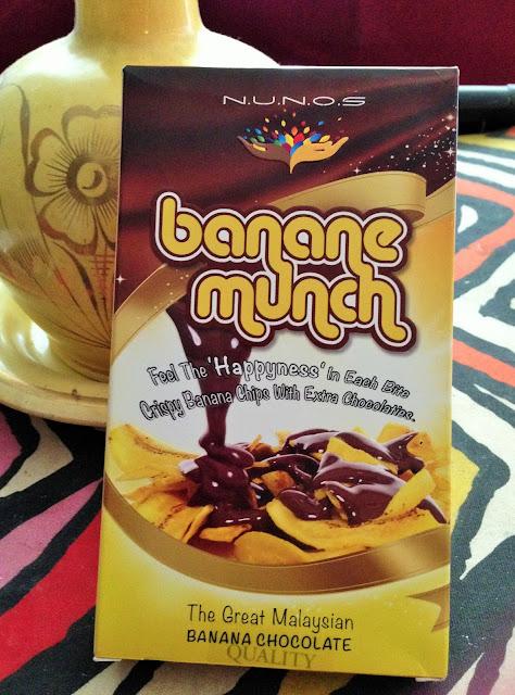 'BANANE MUNCH' KEREPEK PISANG BERSALUT COKELAT, SEDAP BUAT KUDAPAN