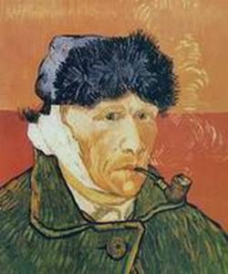 Винсент Ван Гог «Автопортрет с отрезанным ухом и трубкой»