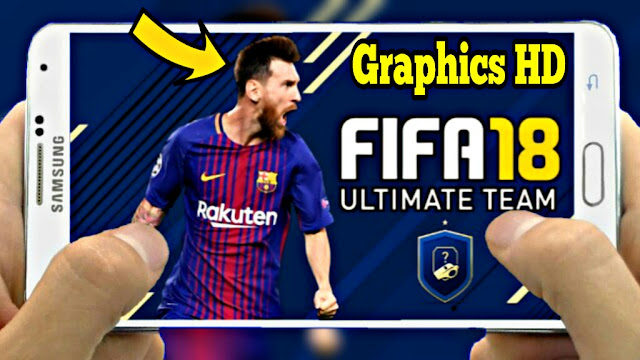 Download FIFA 18 Mod PES 2018 Android Offline 500 MB Best Graphics