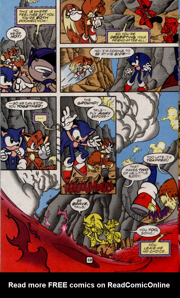 Read online Sonic The Hedgehog comic -  Issue #87 - 13