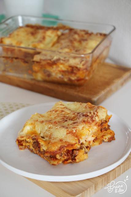 Lasagnes bolognaise Recette rapide Facile et Pas chère