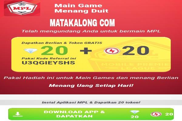 Cara Termudah Hasilkan Uang Dengan Bermain Games MPL