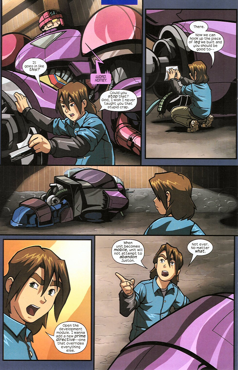 Read online Sentinel comic -  Issue #4 - 8
