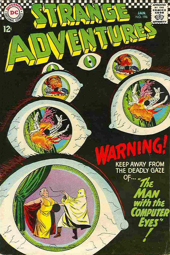 Strange Adventures (1950) issue 196 - Page 1
