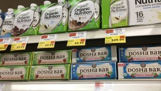 Dosha Bars at Wholefoods