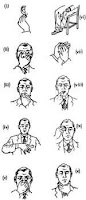 Informasi Simbol: Gestur tubuh anggota Freemason