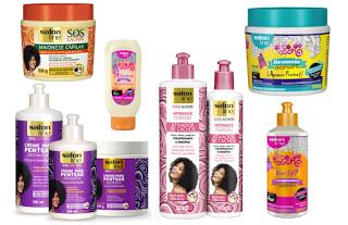Sugestão de cremes Salon Line para cabelos crespos