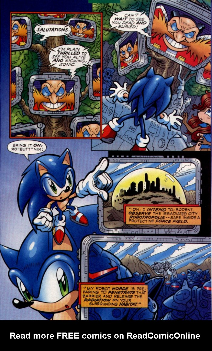 Read online Sonic The Hedgehog comic -  Issue #130 - 24