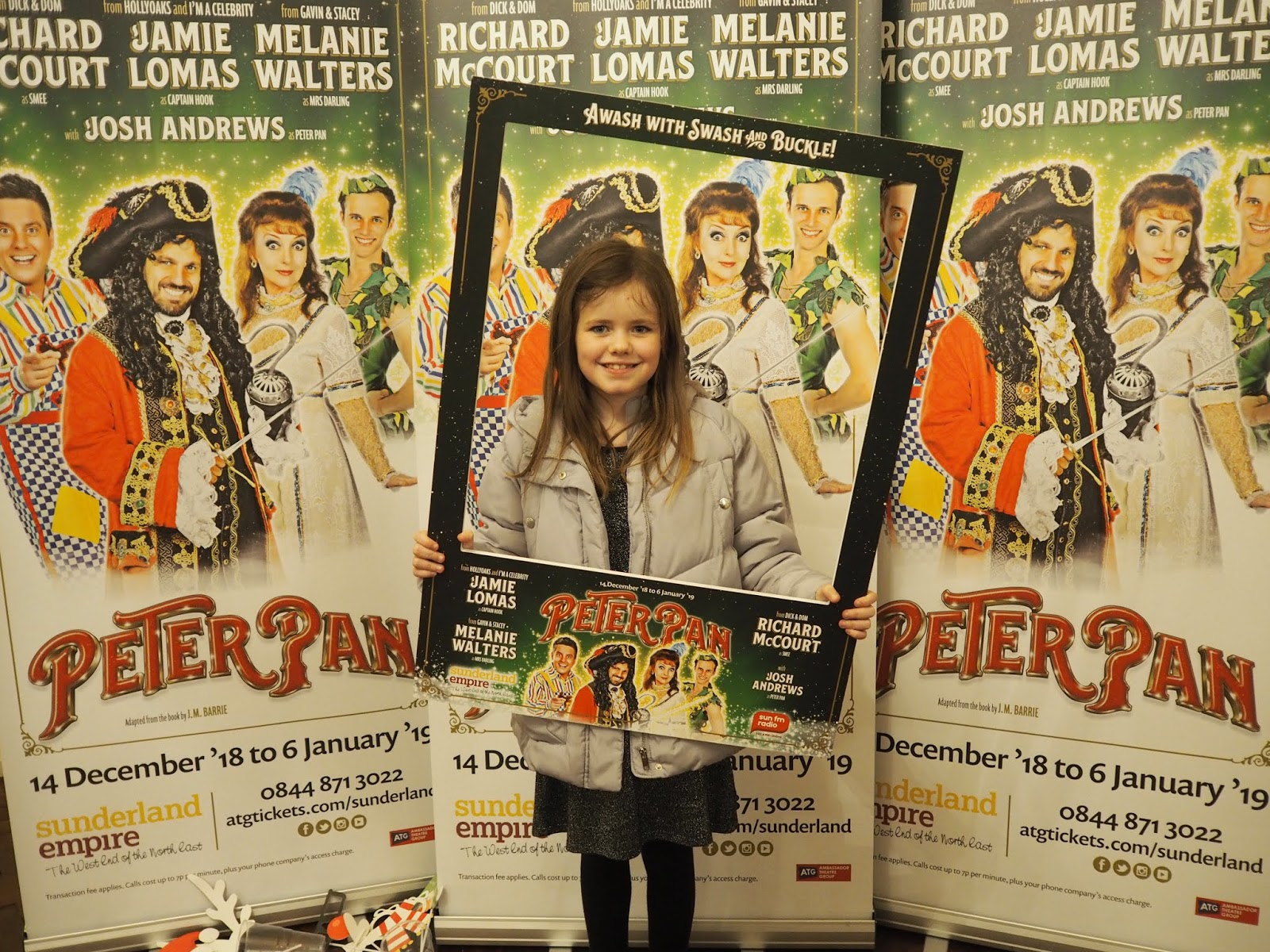 peter pan pantomime sunderland empire review press night