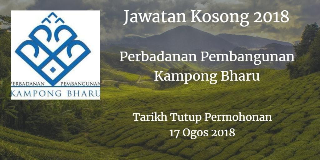 Jawatan Kosong PKB 17 Ogos 2018