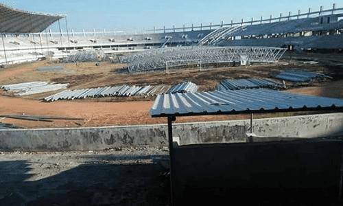 Contoh Pembangunan yang Tertunda karna Asian Games, dana alokasi Pembangunan Stadion Barombong pindah ke Asian Games