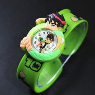 Jam Tangan Anak Karakter Kartun Ben 10